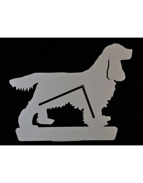 Clock Cocker Spaniel