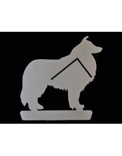Scottish Shepherd Collie Clock
