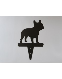 French bulldog for garden
